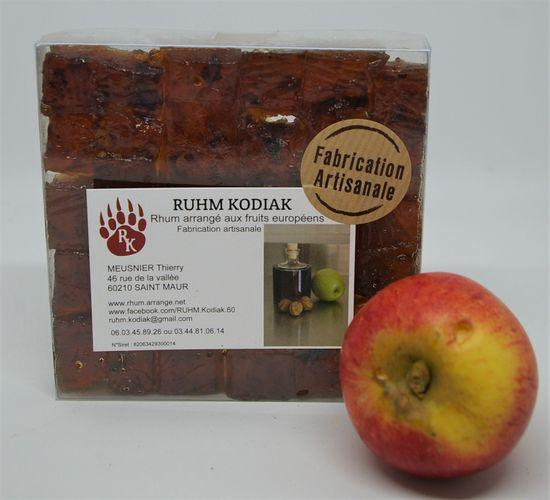 Patte d ours preparation de fruits a base de fruits maceres boite de 250gr de chez ruhm kodiak